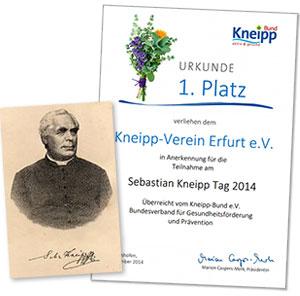 Kneippverein Erfurt - Urkunde